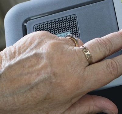 a personal alarm for the elderly
